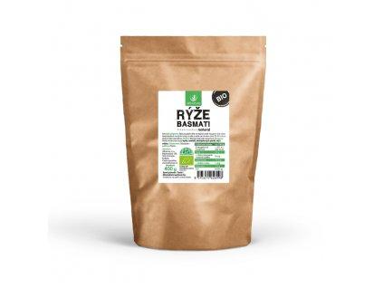 Basmati rýže natural BIO 400 g Allnature (Balení 27 + 3 Zdarma)