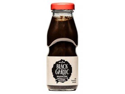 Kečup s černým česnekem, medem a řeckými rajčátky 250g BLACK GARLIC DOWNVILLAGE