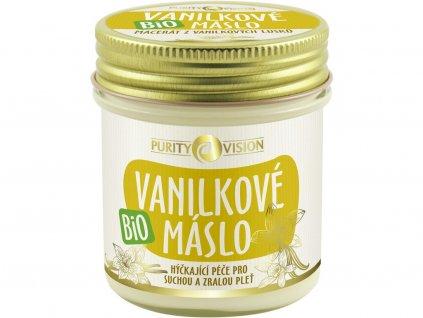 Bio Vanilkové máslo 120ml Purity Vision