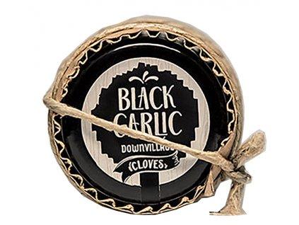 Dárkový set delikates z černého česneku - celé loupané stroužky, kaviár a med 60g BLACK GARLIC DOWNVILLAGE