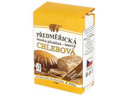 Mouka pšeničná tmavá chlebová 1kg Předměřice
