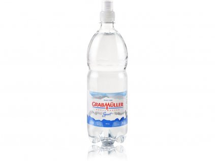 Přírodní pramenitá voda Quellwasser Sport cup 1l