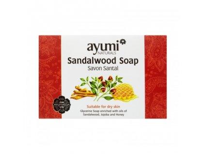 AKCE Mýdlo se santalem 100 g AYUMI