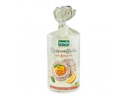 AKCE Rýžové chlebíčky s lněným semínkem BIO 100 g Byodo