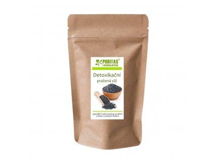 Detoxikační pražená sůl Puritas® 600g Doy-pack
