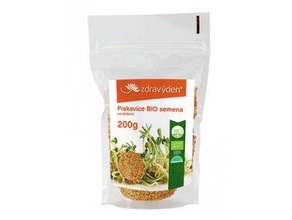 Pískavice BIO - semena na klíčení 200g Zdravý den