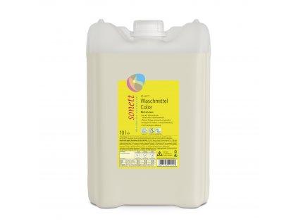 AKCE Prací gel na barevné prádlo COLOR Máta & Citron 10 l Sonett