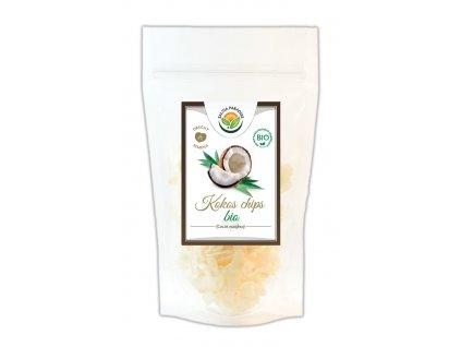 AKCE Kokos plátky - chipsy BIO 100g Salvia Paradise