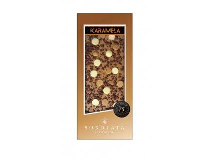 Čokoláda KARAMELA s toffee 100g SOKOLATA AGAPITOS