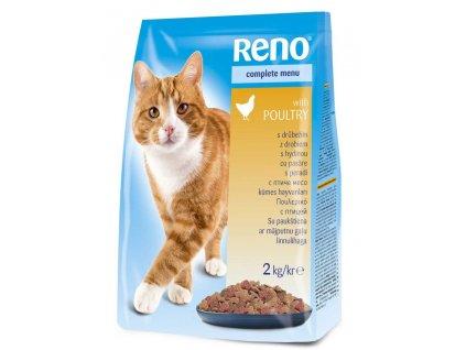 Akce RENO granule CAT drůbeží 2kg