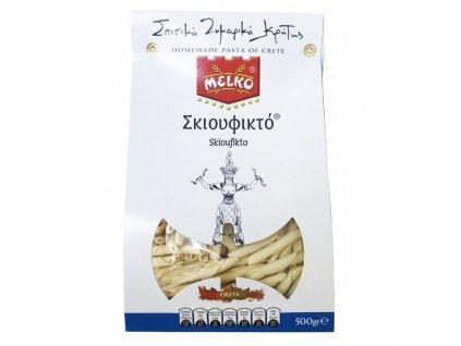 Domácí těstoviny Skioufikto z Kréty 500g MELKO