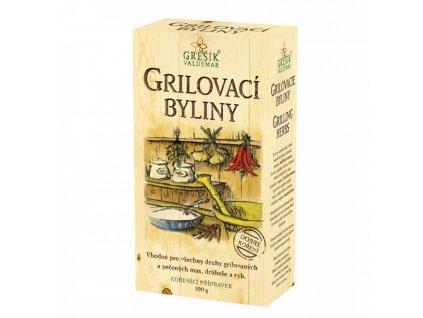 Koření Grilovací byliny 100g Grešík