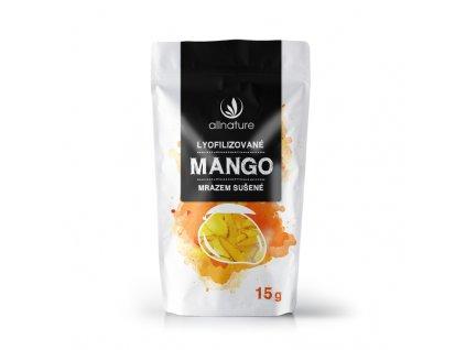 Akce Mango sušené mrazem 15 g Allnature