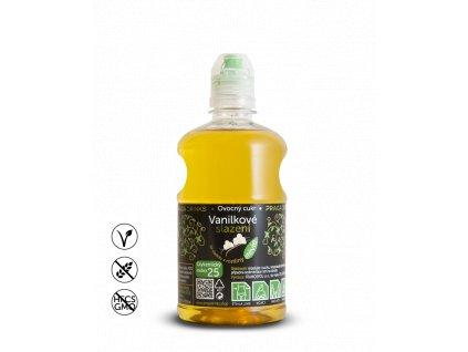 Vanilkové slazení 670g (s příchutí) Praga Drinks