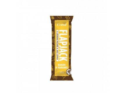 Cerea Flapjack Banán a karamel, bezlepkový 60g
