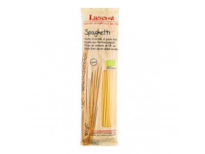 Špagety pšeničné semolinové 500g BIO LASELVA