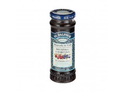 Džem ovocný brusinka a borůvka 284g DALFOUR