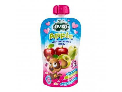 Příkrm jablko 120g OVKO