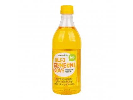 Olej slunečnicový na smažení a pečení 1l BIO COUNTRYLIFE