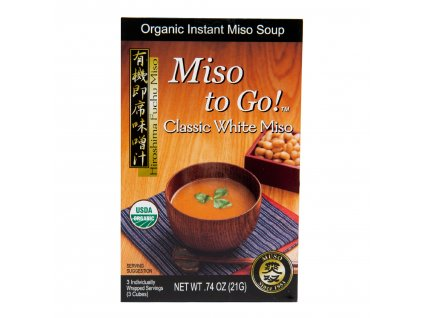 Polévka instantní Miso Classic White (3x7g) 21g BIO MUSO