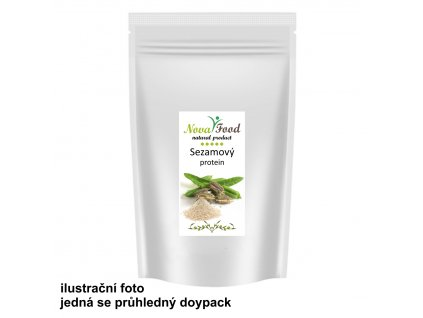 AKCE BIO Sezamový protein 500g Novafood Doy-pack Zip