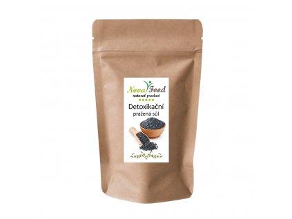 Detoxikační pražená černá sůl Novafood 250g Doy-pack