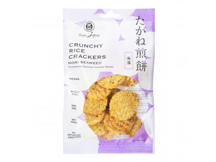 Crackery rýžové s řasou Nori 50 g MUSO