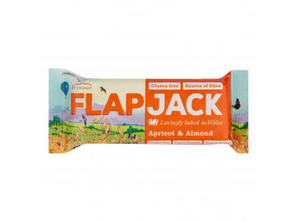Flapjack ovesný meruňka-mandle bezlepkový 80 g WHOLEBAKE