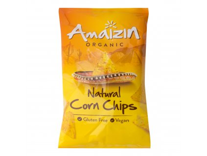 Chipsy kukuřičné 150 g BIO AMAIZIN