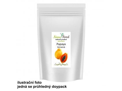 Papaya červená kousky 1000g Novafood  SÁČEK