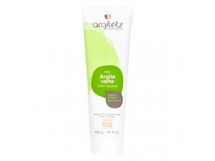 Jíl zelený v tubě k přímému použití 400 g ARGILETZ