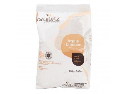Jíl bílý ultra ventilovaný maska & koupel 200 g ARGILETZ