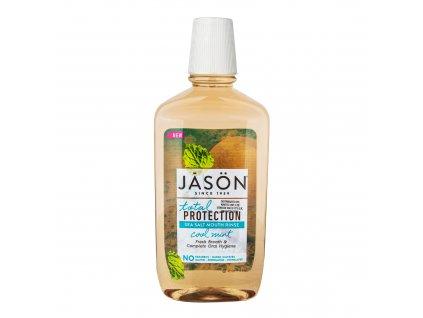Ústní voda total protection s mořskou solí a mátou 473 ml JASON