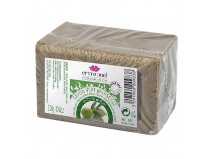 Mýdlo Marseille zelené 300 g EMMA NOËL