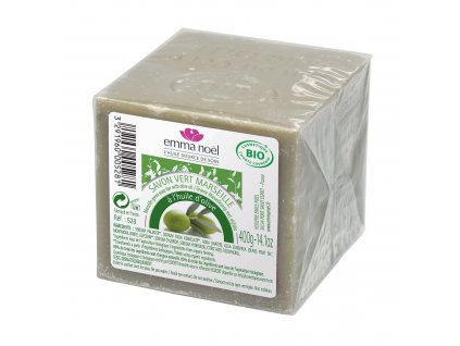 Mýdlo Marseille oliva 400 g BIO EMMA NOËL