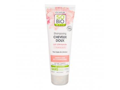 Šampon jemný s mandlovým mlékem a rýžovým proteinem 250 ml BIO SO'BiO étic