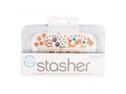 Sáček silikonový na potraviny čirý 293,5 ml STASHER