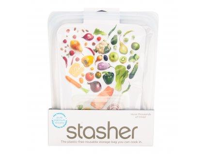 Sáček silikonový na potraviny čirý 1,92 l STASHER