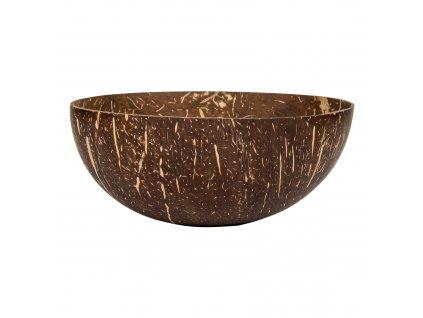 Miska kokosový ořech - kulatá bez podstavy 400 ml HEDSOR
