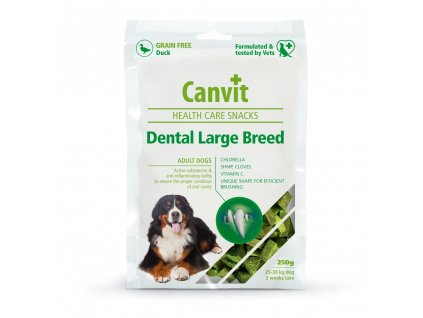 Canvit SNACKS Dental Large Breed 250 g