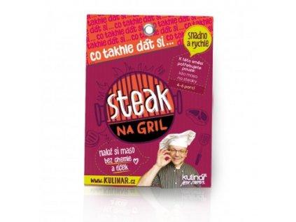 Co takhle dát si... STEAK NA GRIL - Kulinář Petr Stupka - směs pro přípravu celého pokrmu 30g