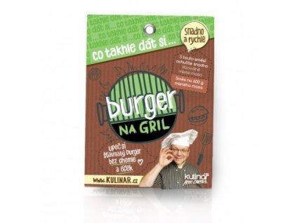 Co takhle dát si... BURGER NA GRIL - Kulinář Petr Stupka - směs pro přípravu celého pokrmu 30g