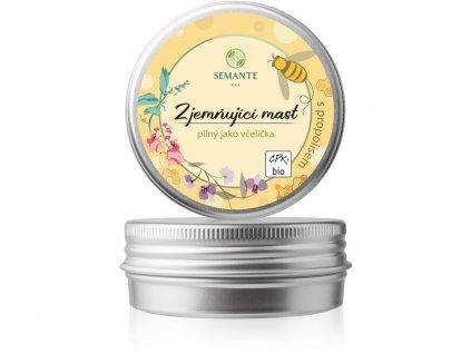 """Bio Zjemňující mast s propolisem """"Pilný jako včelička"""" 50 ml Naturalis"""