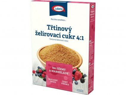 Třtinový želírovací cukr 250g Labeta