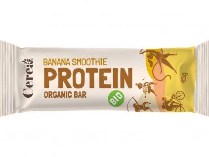 Bio proteinová tyčinka PROTEIN Banana Smoothie 45g Cerea