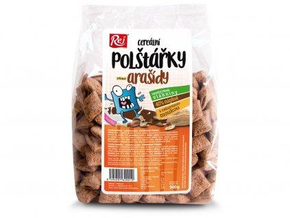 Polštářky cereální arašídové 500g Rej