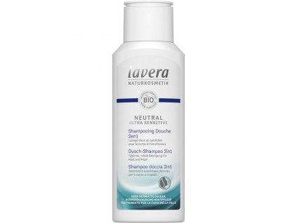 Lavera Neutral ultra sensitive Sprchový šampon na tělo a vlasy 2v1 200ml Lavera