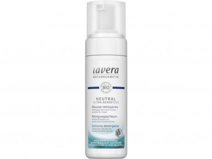 Lavera Neutral ultra sensitive Čistící pěna 150ml Lavera
