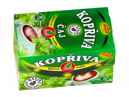 Kopřivový čaj 30g(20x1,5g) Urticae diotica herba plv.