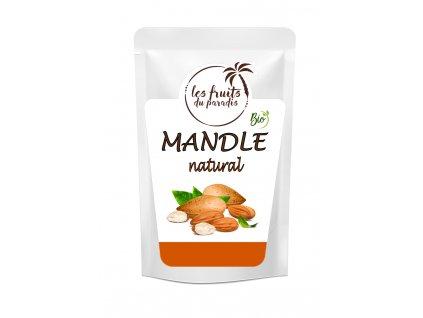 Mandle natural Bio sacek